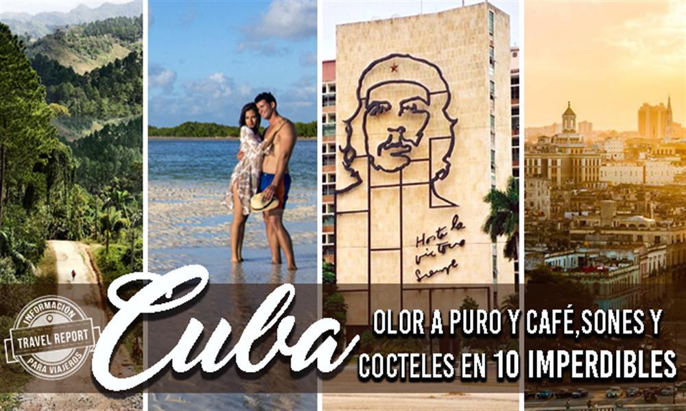 Los 10 imperdibles lugares turísticos de Cuba