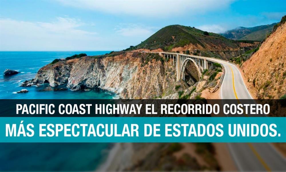 Pacific Coast Highway es la autopista de tus sueños