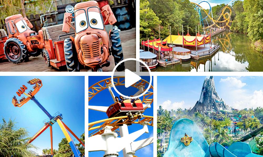 Cuáles son los 10 mejores parques de diversiones de Estados Unidos 2