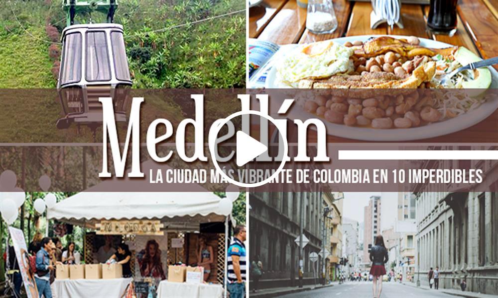 Los 10 lugares para ver en tu primera vez en Medellín 2