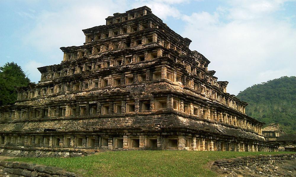 La zona arqueológica Tajín, Veracruz