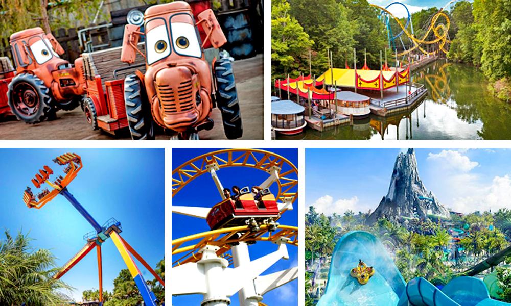 Cuáles son los 10 mejores parques de diversiones de Estados Unidos