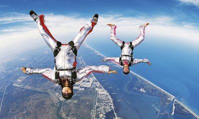 Consejos para tu primera vez en paracaídas
