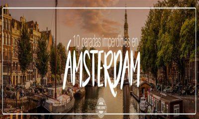 ¿Qué visitar en Ámsterdam? Recorre sus 10 imperdibles