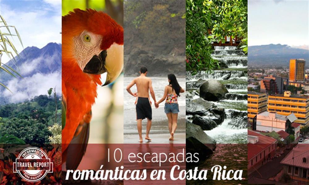 10 escapadas románticas en Costa Rica