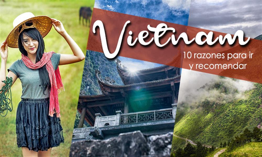 Vietnam: las mejores 10 razones para ir