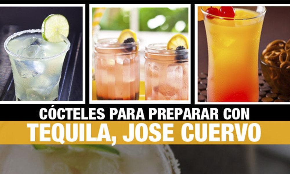 5 cócteles fáciles y deliciosos para preparar con tequila Jose Cuervo