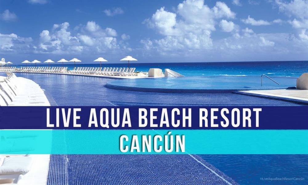 Live Aqua Cancún: lujo, romance y todo incluido