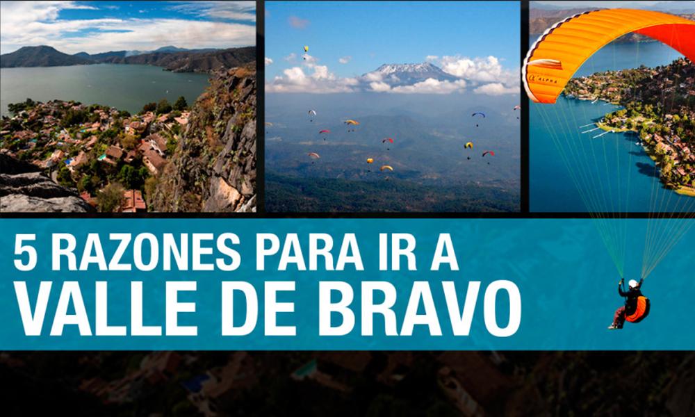 Valle de Bravo: 5 razones para irte este fin de semana