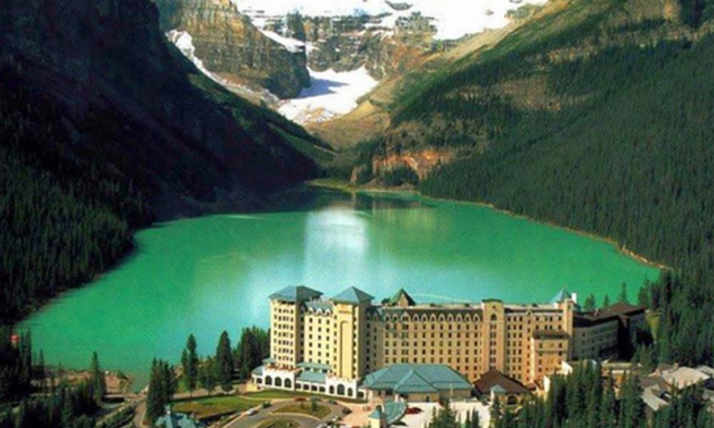 Belleza extrema de Alberta, Canadá
