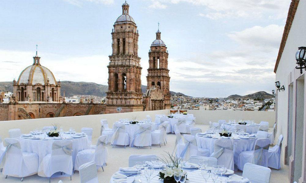 Los 5 mejores hoteles para bodas en Zacatecas, ¡los amarás!