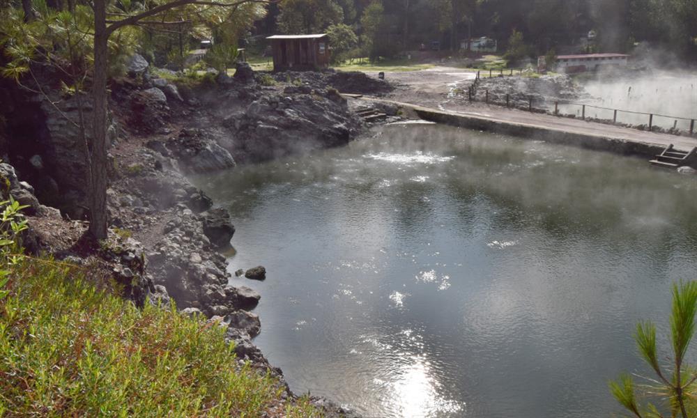 Escápate al spa natural Los Azufres en Michoacán