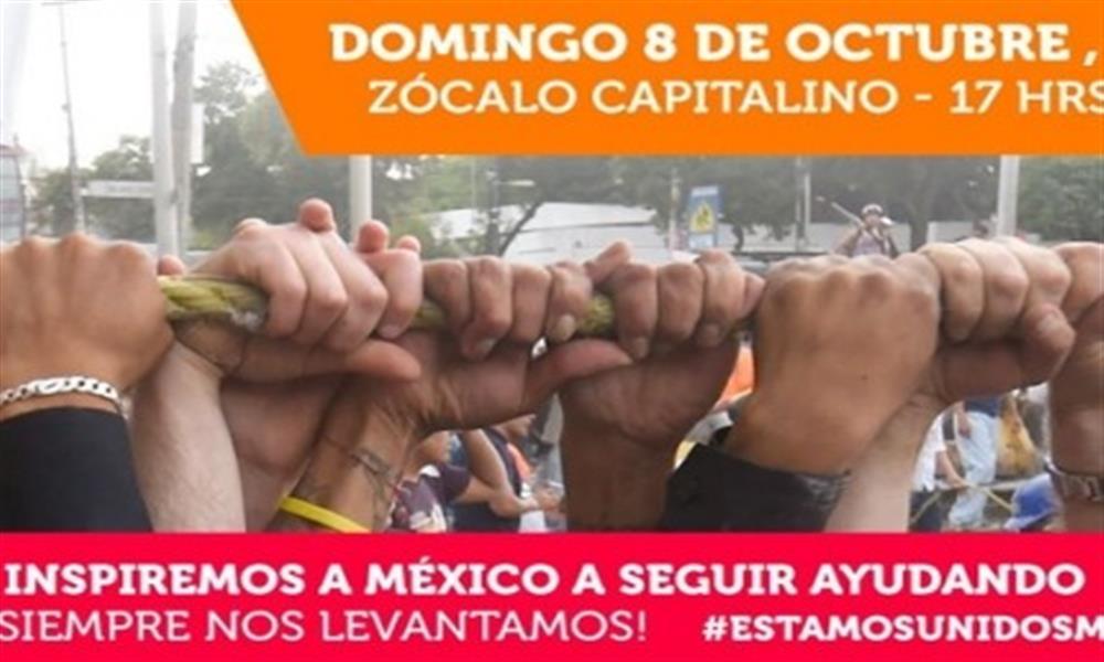 Estamos Unidos Mexicanos, ¡juntos nos levantamos!
