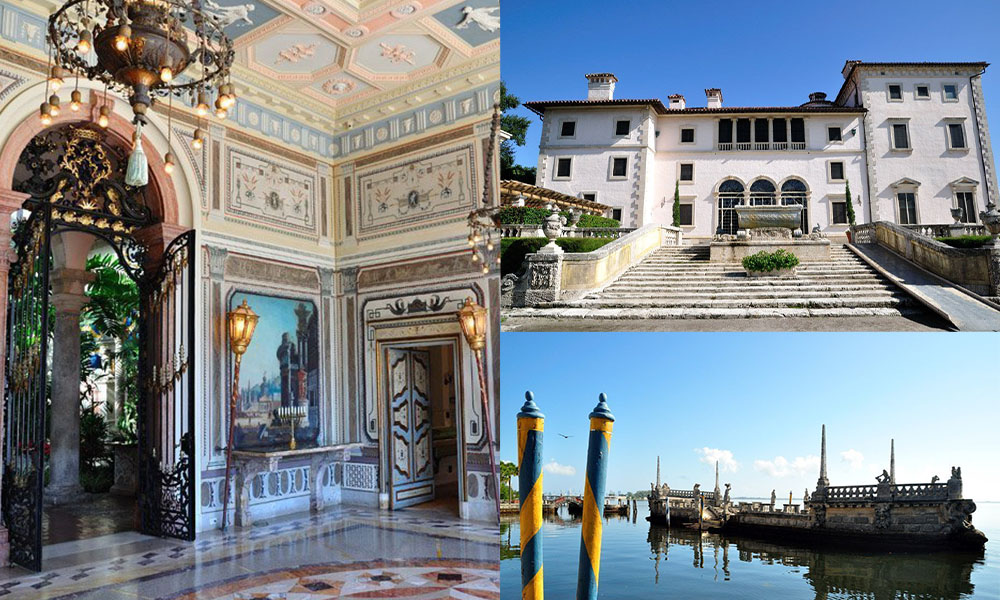 Museo y Jardines Vizcaya: una fantasía veneciana en Miami