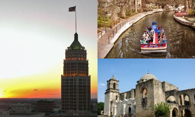 San Antonio Texas Collage Fotos Alamo Riverwalk