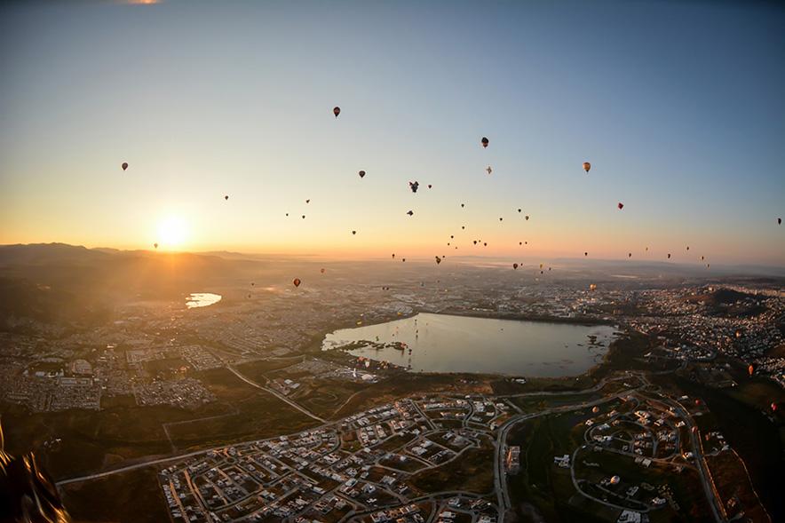 Международный фестиваль воздушных шаров в Леоне, Гуанахуато - Отчет о путешествии