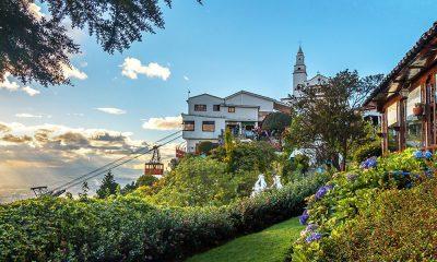 Recorrer el cerro Monserrate en Bogotá será tu nueva obsesión