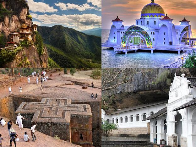 Conoce cuáles son los templos más hermosos del mundo