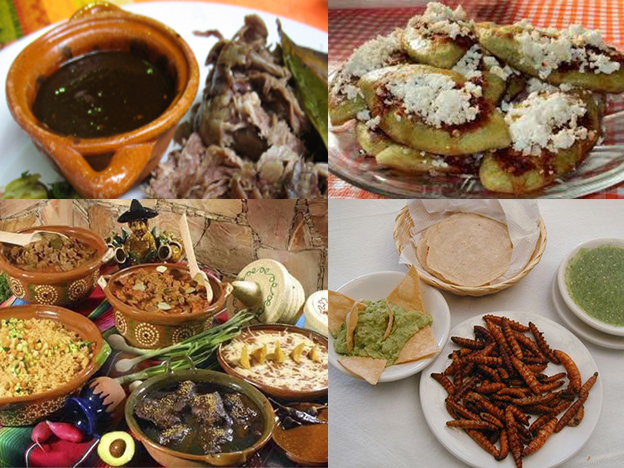 comida tlaxcala collage