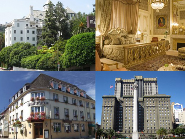 Top 10: hoteles donde han muerto famosos
