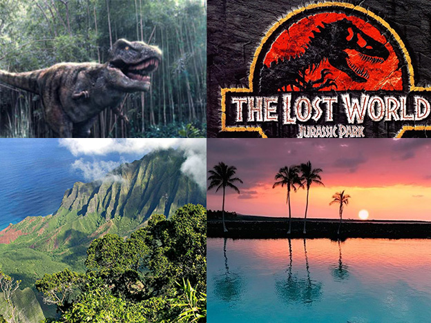 Гавайи: Знайте, какие места вы должны увидеть по маршруту парка Юрского периода