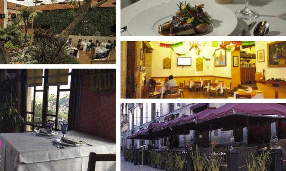 Mejores restaurantes en Guanajuato