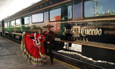 Tren José Cuervo: Conoce este transporte en a noche más mexicana