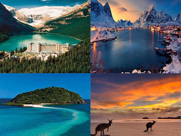 Los 10 mejores destinos para viajar… ¡Solo!