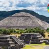 Volar en globo en Teotihuacán