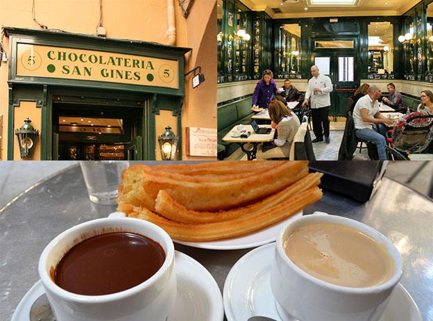 Chocolatería San Ginés es un lugar único en Madrid