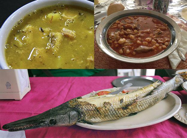 Экзотическая мексиканская еда только для настоящих едоков