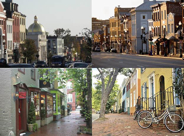 Джорджтаун, самый символичный район Вашингтона