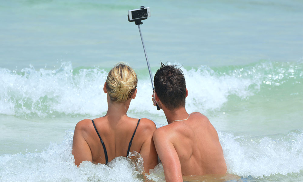Tips para lograr la mejor selfie en tu viaje, ¡pónganse guapos!