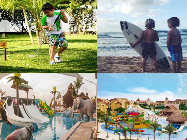 Primera parte de los 10 mejores hoteles para niños en Cancún, Quintana Roo