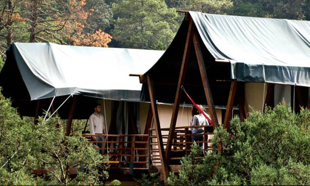 En Querétaro están los mejores campamentos ecoturíticos