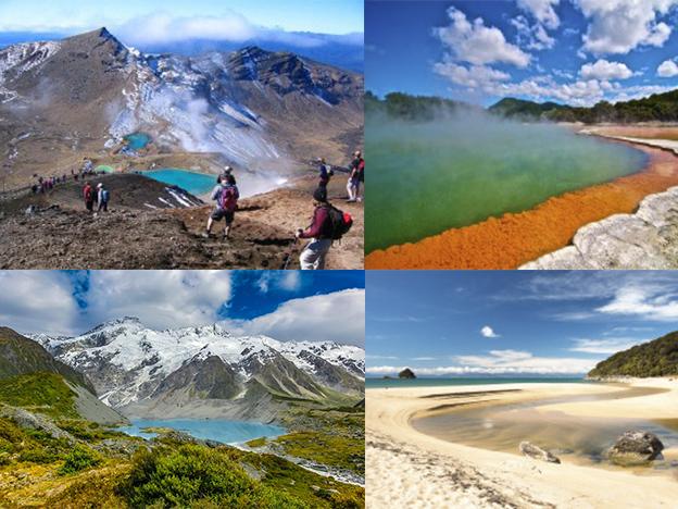 Nueva Zelanda: conoce cuáles son los mejores lugares para ver
