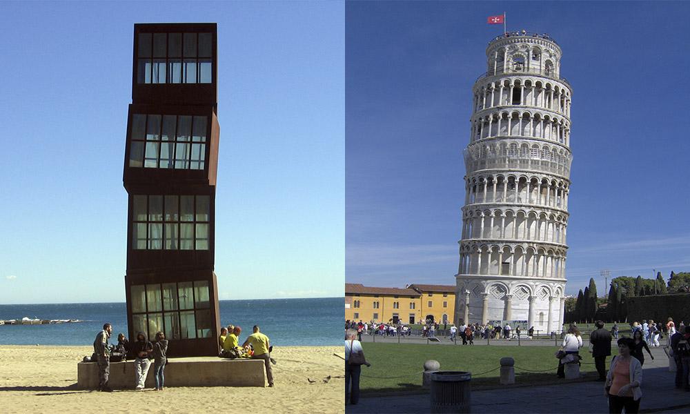 Torres inclinadas: conoce cuáles son y en qué parte están