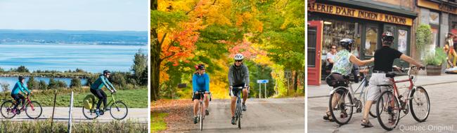 Bicicleta en Quebec