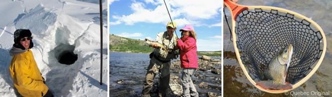 pesca en quebec