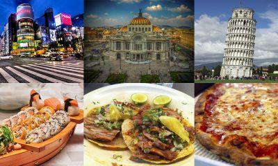 Mejores ciudades para comer en el mundo y no morir en el intento