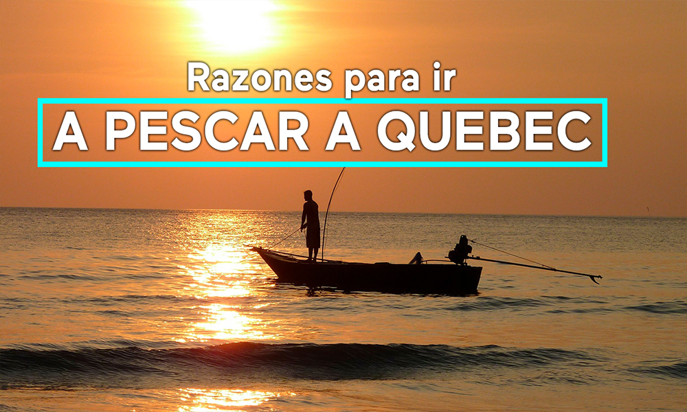 pesca deportiva recreativa quebec