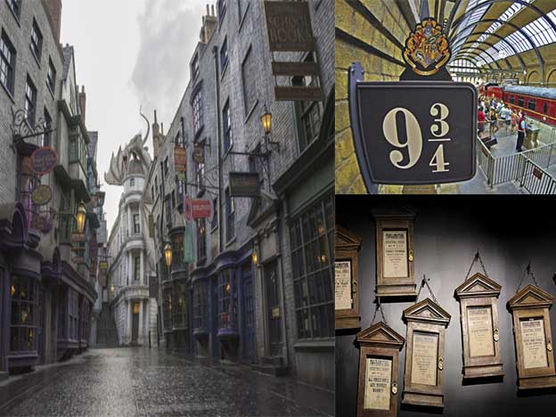 Parque de diversiones Harry Potter Orlando Florida 2