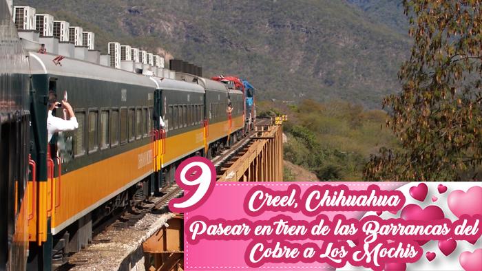 Романтические переживания, чтобы жить как пара в городах Мексики