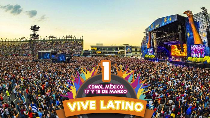 Vive Latino en la Ciudad de México