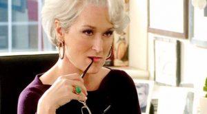 Miranda Priestly en El diablo viste a la moda