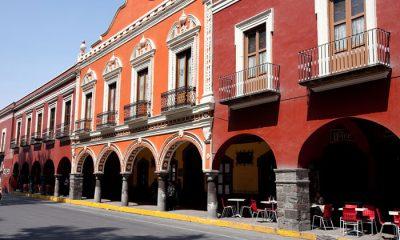 Palacio Municipal en el Centro Histórico de Tlaxcala