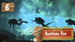 Nadar en cenotes en Quintana Roo