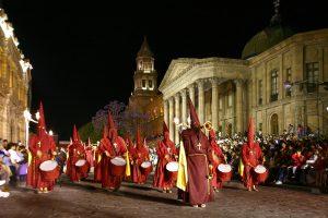 Procesión en San Luis Potosí