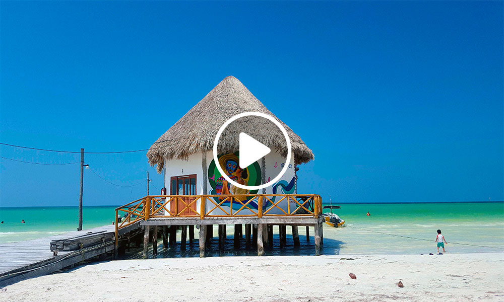cómo llegar a holbox Caleta de Holbox playa isla