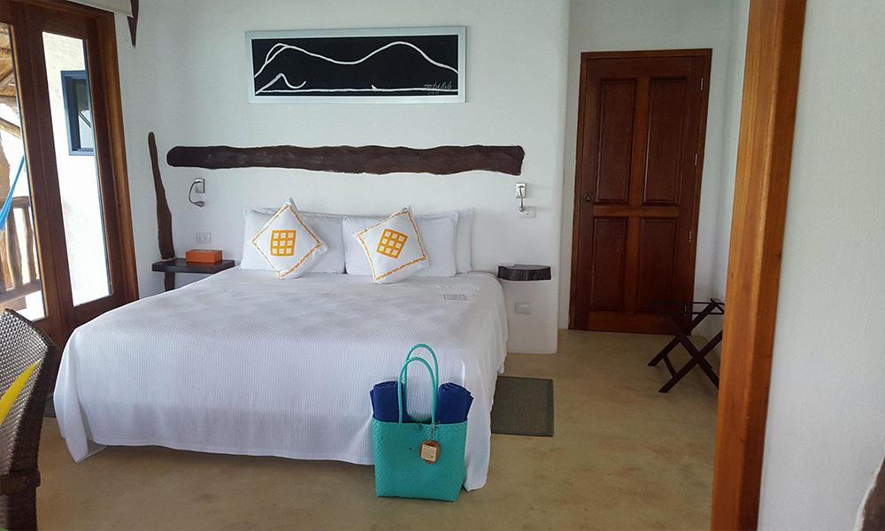 cuarto de hotel en isla holbox